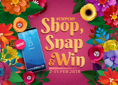 Shop, Snap and Win Instagram Contest