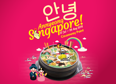 Annyeong Singapore at Causeway Point