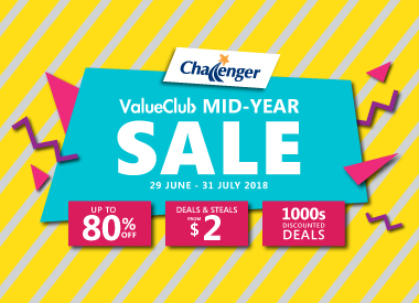 Challenger Mid-Year Sale