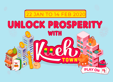 Unlock Prosperity With Kueh Town!