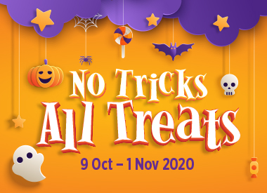 No Tricks, All Treats at Causeway Point