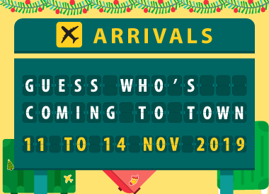 Guess Who's Coming to Town?