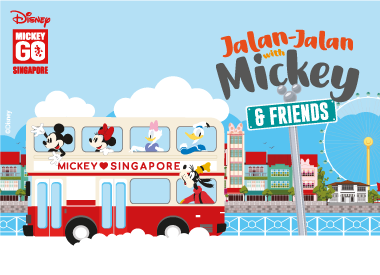 Jalan-Jalan With Disney's Mickey Mouse & Friends