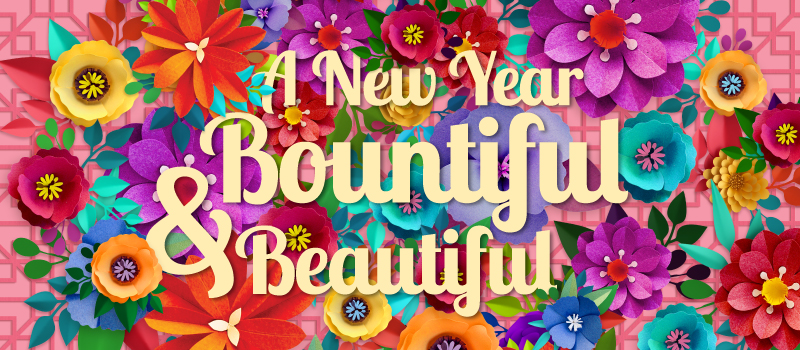 A New Year Bountiful & Beautiful at Frasers Centrepoint Malls